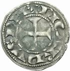 Photo numismatique  MONNAIES BARONNIALES Comté de POITIERS RICHARD Coeur de Lion (1189-1196) Denier.