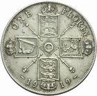 Photo numismatique  MONNAIES MONNAIES DU MONDE ANGLETERRE GEORGE V (1910-1936) Florin de 1919.