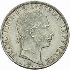 Photo numismatique  MONNAIES MONNAIES DU MONDE AUTRICHE FRANCOIS-JOSEPH (1848-1916) Florin de 1858.