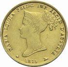 Photo numismatique  MONNAIES MODERNES FRANÇAISES MARIE-LOUISE, duchesse de Parme (1815-1847)  40 lire or.