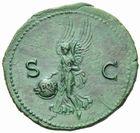 Photo numismatique MONNAIES EMPIRE ROMAIN NERON (54-68) As frappé à Lyon en 66.