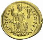 Photo numismatique  MONNAIES EMPIRE ROMAIN HONORIUS (393-423)  Solidus.