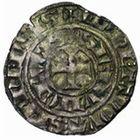 Photo numismatique  MONNAIES VOLEES BARONNIALES Seigneurie de SERAIN WALERAN de LUXEMBOURG (1304-1353 et 1364-1369) Baudekin à la lance, ère émission (vers 1310).