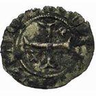 Photo numismatique  MONNAIES VOLEES BARONNIALES Seigneurie d'ELINCOURT GUI de Luxembourg, comte de Saint-Pol (1360-1371) Tiers de gros au lion.