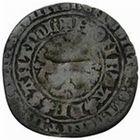 Photo numismatique  MONNAIES VOLEES BARONNIALES Seigneurie d'ELINCOURT WALLERAN III de LUXEMBOURG, comte de Ligny et Saint-Pol (1371-1415) Double gros au lion heaumé.