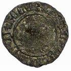 Photo numismatique  MONNAIES VOLEES BARONNIALES Seigneurie d'ÉLINCOURT WALLERAN III de LUXEMBOURG, comte de Ligny et Saint-Pol (1371-1415) Tiercelle ou Tiers de gros au chevalier.