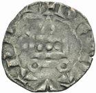 Photo numismatique  MONNAIES BARONNIALES Comté d'EVREUX CHARLES le MAUVAIS. (1343-1378) Denier.