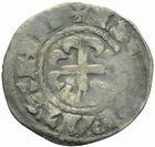Photo numismatique  MONNAIES BARONNIALES Duché de BRETAGNE ANONYMES (1186-1250) Denier de Rennes.