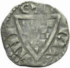 Photo numismatique  MONNAIES BARONNIALES Duché de BRETAGNE JEAN Ier le Roux (1237-1286) Denier.