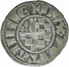 Photo numismatique  MONNAIES BARONNIALES Duché de BRETAGNE JEAN II (1286-1305) Denier de Guingamp.