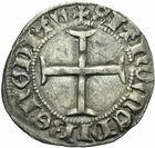 Photo numismatique  MONNAIES BARONNIALES Duché de BRETAGNE JEAN V (1399-1442) Blanc de Morlaix, frappé avant 1436.