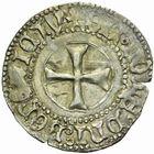 Photo numismatique  MONNAIES BARONNIALES Duché de BRETAGNE FRANCOIS Ier (1442-1450) Blanc doré à la targe de Rennes.