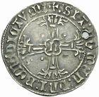 Photo numismatique  MONNAIES BARONNIALES Duché de BRETAGNE FRANÇOIS II (1458-1488) Gros à l'écu de Nantes.