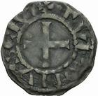Photo numismatique  MONNAIES BARONNIALES Abbaye de SAINT-MARTIN de TOURS (XIIe-XIIIe siècles) Denier.