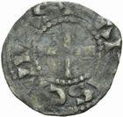 Photo numismatique  MONNAIES BARONNIALES Comté de CHARTRES ANONYMES (vers 1030-1150) Obole.