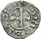 Photo numismatique  MONNAIES BARONNIALES Vicomté de CHÂTEAUDUN ANONYMES (vers 1130-1160) Obole.