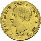 Photo numismatique  MONNAIES MODERNES FRANÇAISES NAPOLEON Ier, roi d'Italie (1805-1814)  40 lire or.