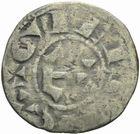 Photo numismatique  MONNAIES BARONNIALES Comté de GIEN et Seigneurie de DONZY GEOFFROI III de Donzy (1120-1160) Denier.
