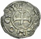 Photo numismatique  MONNAIES BARONNIALES Seigneurie d'ISSOUDUN Successeurs d'EUDES Ier (1044-1093) Denier.