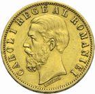 Photo numismatique  MONNAIES MONNAIES DU MONDE ROUMANIE CAROL Ier (1881-1914) 20 lei or de 1883.