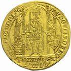 Photo numismatique  MONNAIES BARONNIALES Comté de FLANDRE LOUIS de MÂLE (1346-1384) Flandres d'or.