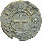 Photo numismatique  MONNAIES BARONNIALES Vicomté de LIMOGES Type d'Eudes (vers 1020-1100) Denier faux d'époque.