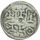 Photo numismatique  MONNAIES BARONNIALES Comté de POITIERS (XIIe siècle) Denier.