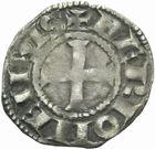 Photo numismatique  MONNAIES BARONNIALES Comté d'AUVERGNE ALPHONSE de Poitiers (1241-1271) Denier.