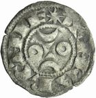 Photo numismatique  MONNAIES BARONNIALES Comté de LA MARCHE HUGUES IX et X (1199-1219-1249) Denier.