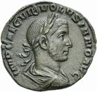 Photo numismatique  MONNAIES EMPIRE ROMAIN VOLUSIEN (César 251 - Auguste 251-253)  Sesterce.