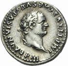 Photo numismatique  MONNAIES EMPIRE ROMAIN TITUS  César (69-79 Auguste (79-81)  Denier.