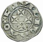 Photo numismatique  MONNAIES BARONNIALES Duché d'AQUITAINE GUILLAUME IX ou X (1086-1126-1137) Denier.