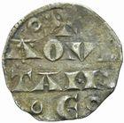 Photo numismatique  MONNAIES BARONNIALES Duché d'AQUITAINE HENRI Ier Plantagenet (1152-1169) Denier.