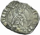 Photo numismatique  MONNAIES BARONNIALES Duché d'AQUITAINE HENRI II à IV (1399-1413-1453) Hardi d'argent.