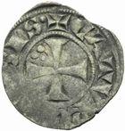 Photo numismatique  MONNAIES BARONNIALES Evêché de CAHORS (Fin du XIIIe - début du XIVe siècle) Denier.
