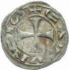 Photo numismatique  MONNAIES BARONNIALES Cité de CAHORS ANONYMES (vers 1150-1200) Denier.