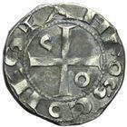 Photo numismatique  MONNAIES BARONNIALES Comté de TOULOUSE ALPHONSE JOURDAIN (1112-1148) Denier.