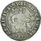 Photo numismatique  MONNAIES BARONNIALES Comté de PROVENCE ROBERT d'ANJOU (1309-1343) Carlin provençal.