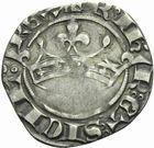 Photo numismatique  MONNAIES BARONNIALES Comté de PROVENCE ROBERT d'ANJOU (1309-1343) Coronat d'argent.