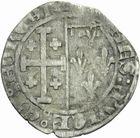 Photo numismatique  MONNAIES BARONNIALES Comté de PROVENCE LOUIS III ou IV (1384-1417-1434) Gros à la couronne.