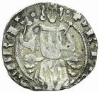 Photo numismatique  MONNAIES BARONNIALES Principauté d'ORANGE RAYMOND V (1340-1393) Demi-carlin.