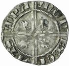 Photo numismatique  MONNAIES BARONNIALES Principauté d'ORANGE RAYMOND V (1340-1393) Demi-carlin.