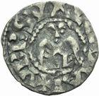 Photo numismatique  MONNAIES BARONNIALES Evêché de VALENCE ANONYMES (XIIe - XIIIe siècle) Denier.