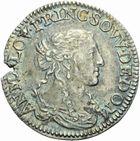 Photo numismatique  MONNAIES BARONNIALES Principauté des DOMBES ANNE MARIE LOUISE (1650-1693) Douzième d'écu de 1664.