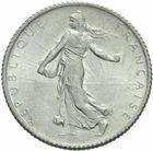 Photo numismatique  MONNAIES MODERNES FRANÇAISES 3ème REPUBLIQUE (4 septembre 1870-10 juillet 1940)  1 franc 1914 Castelsarrasin.