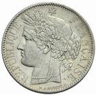 Photo numismatique  MONNAIES MODERNES FRANÇAISES 2e REPUBLIQUE (24 février 1848-2 décembre 1852)  1 franc 1850.