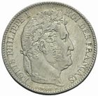 Photo numismatique  MONNAIES MODERNES FRANÇAISES LOUIS-PHILIPPE Ier (9 août 1830-24 février 1848)  1 franc 1846.