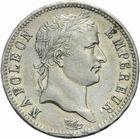 Photo numismatique  MONNAIES MODERNES FRANÇAISES NAPOLEON Ier, empereur (18 mai 1804- 6 avril 1814)  1 franc 1913.
