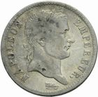 Photo numismatique  MONNAIES MODERNES FRANÇAISES NAPOLEON Ier, empereur (18 mai 1804- 6 avril 1814)  1 franc 1808.