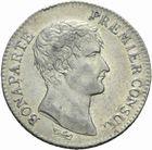 Photo numismatique  MONNAIES MODERNES FRANÇAISES LE CONSULAT (à partir du 24 décembre 1799-18 mai 1804) Bonaparte 1er Consul 1 franc an 12.